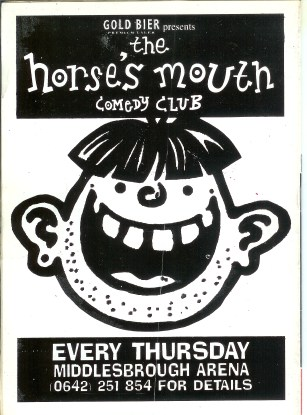 One of the first ad's for the horses mouth.